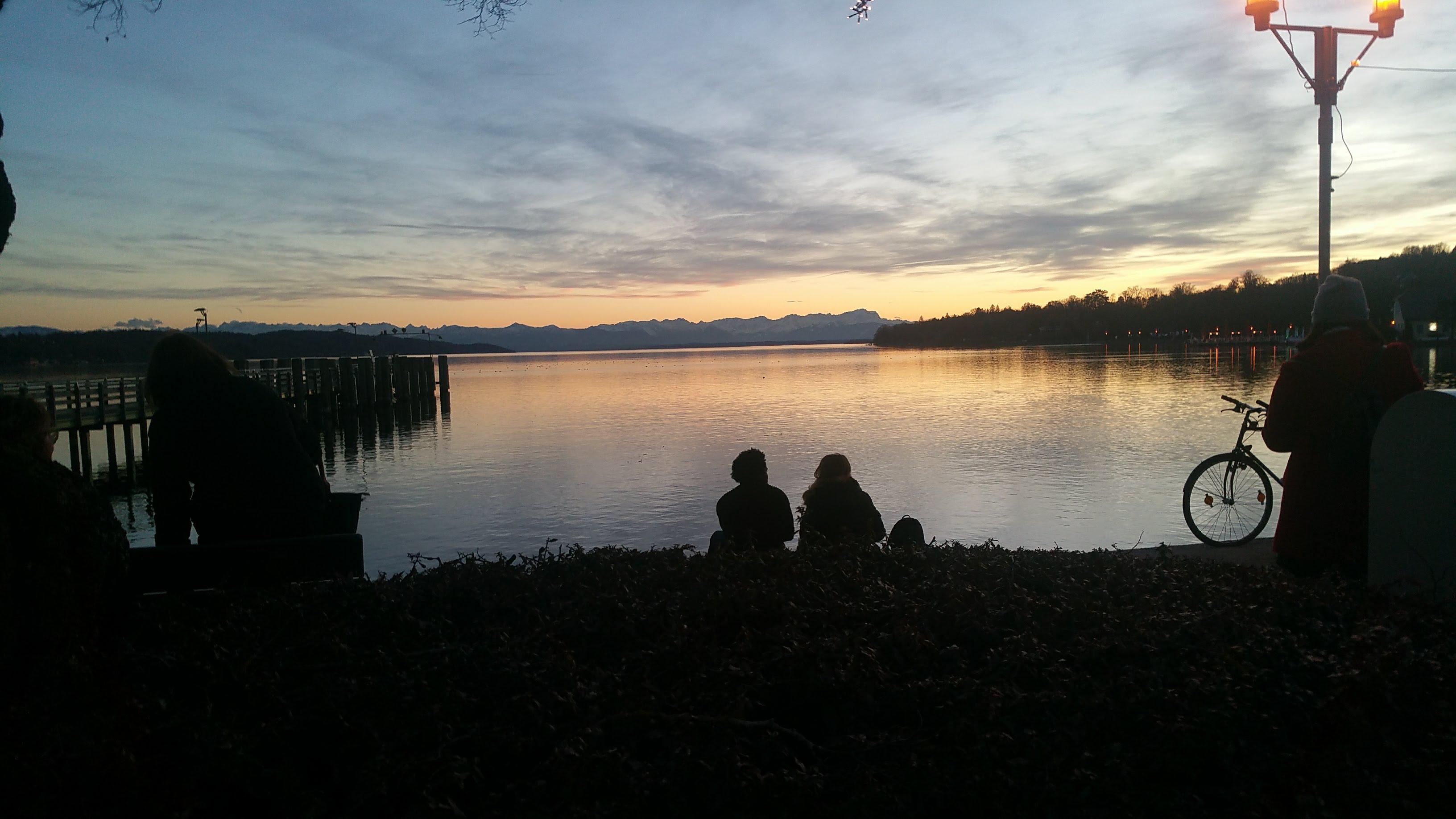 Sunset Starnberg